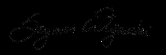 Szymon Wujewski Podpis